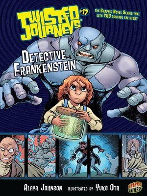 cover image of Detective Frankenstein