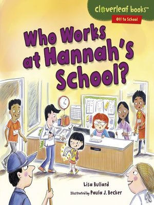 cover image of Who Works at Hannah's School?