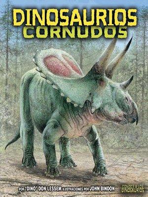 cover image of Dinosaurios cornudos (Horned Dinosaurs)