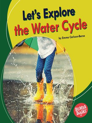 cover image of Let's Explore the Water Cycle