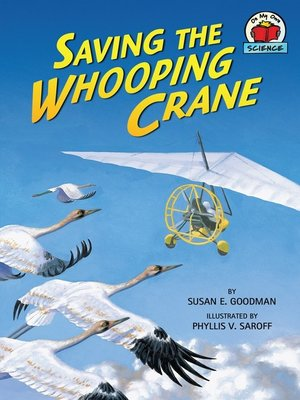 cover image of Saving the Whooping Crane