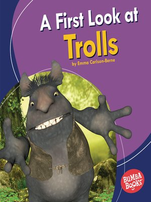 cover image of A First Look at Trolls
