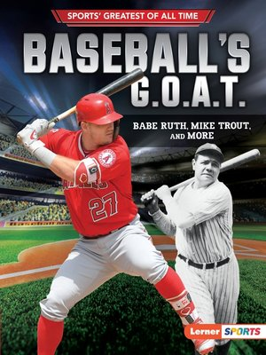 cover image of Baseball's G.O.A.T.