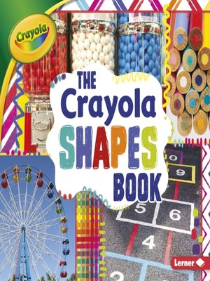 cover image of The Crayola Shapes Book