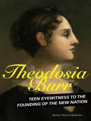 cover image of Theodosia Burr