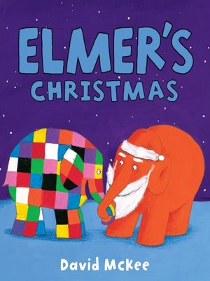 cover image of Elmer's Christmas