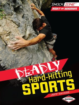 cover image of Deadly Hard-Hitting Sports
