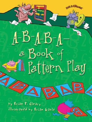 cover image of A-B-A-B-A—a Book of Pattern Play