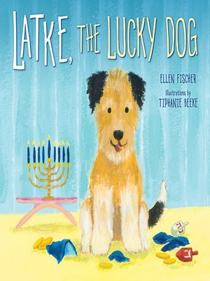 cover image of Latke, the Lucky Dog