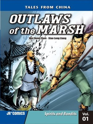 cover image of Outlaws of the Marsh, Volume 1