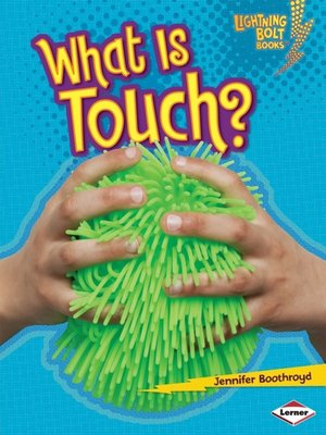 cover image of What Is Touch?