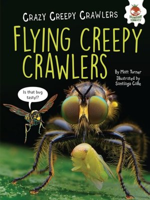 cover image of Flying Creepy Crawlers