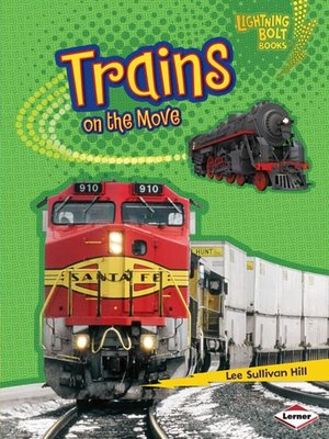 cover image of Trains on the Move