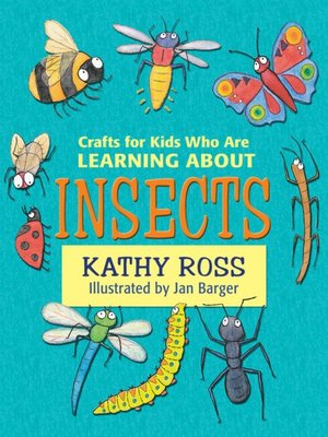 cover image of Crafts for Kids Who Are Learning about Insects