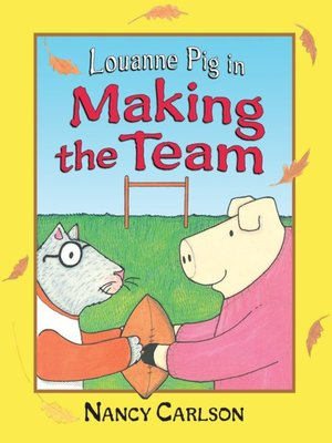 cover image of Louanne Pig in Making the Team