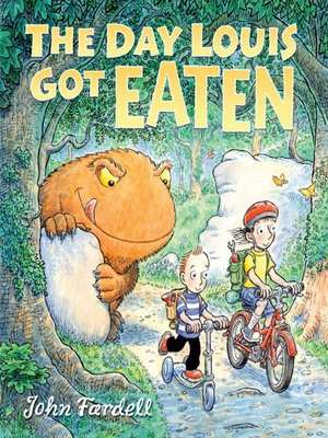 cover image of The Day Louis Got Eaten