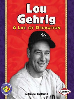 cover image of Lou Gehrig
