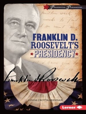 cover image of Franklin D. Roosevelt's Presidency