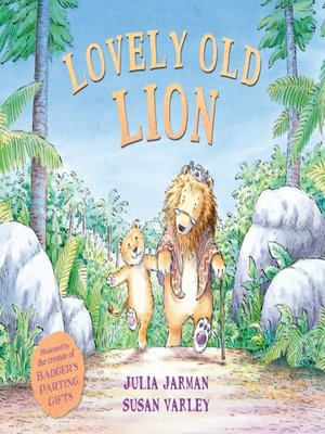 cover image of Lovely Old Lion
