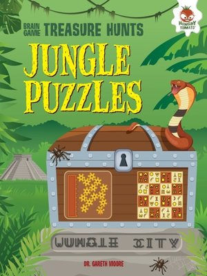 cover image of Jungle Puzzles