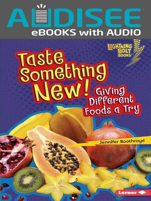 cover image of Taste Something New!