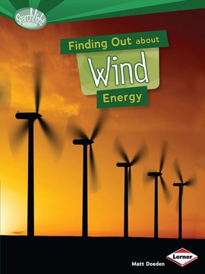 cover image of Finding Out about Wind Energy