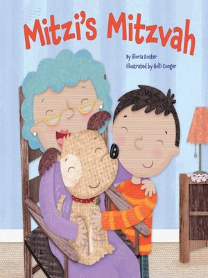 cover image of Mitzi's Mitzvah