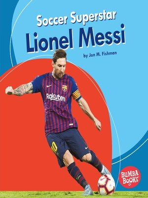 cover image of Soccer Superstar Lionel Messi