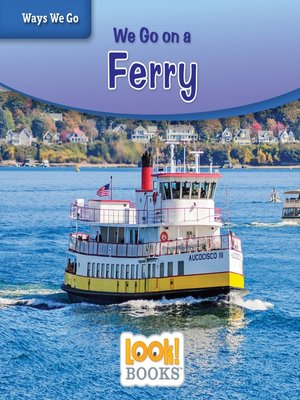 cover image of We Go on a Ferry