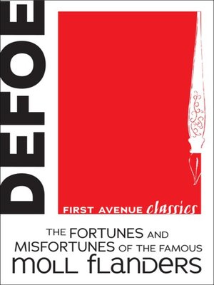 cover image of The Fortunes and Misfortunes of the Famous Moll Flanders