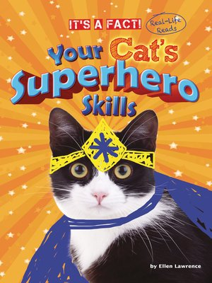 cover image of Your Cat's Superhero Skills
