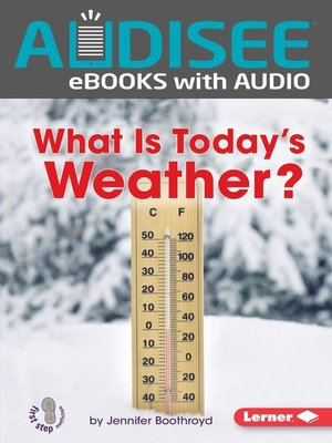 cover image of What Is Today's Weather?