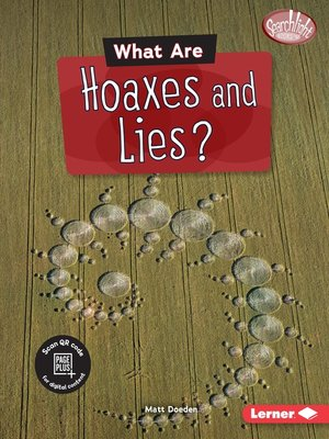 cover image of What Are Hoaxes and Lies?