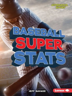 cover image of Baseball Super Stats