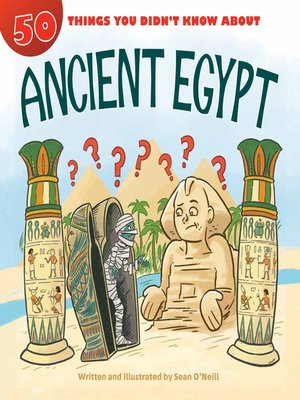 cover image of 50 Things You Didn't Know about Ancient Egypt