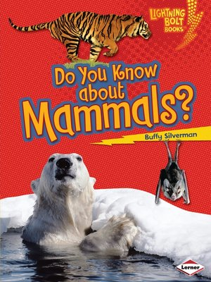 cover image of Do You Know about Mammals?