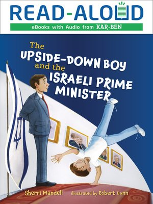 cover image of The Upside-Down Boy and the Israeli Prime Minister