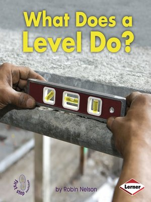 cover image of What Does a Level Do?