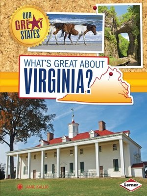 cover image of What's Great about Virginia?