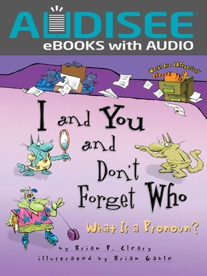 cover image of I and You and Don't Forget Who