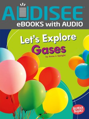 cover image of Let's Explore Gases