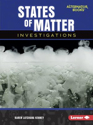 cover image of States of Matter Investigations