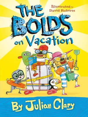 cover image of The Bolds on Vacation