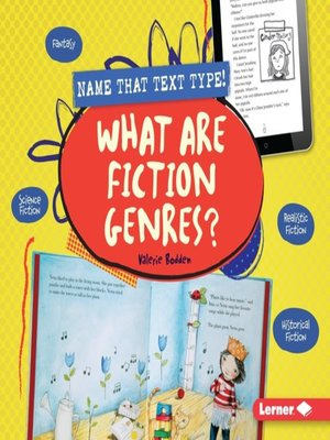 cover image of What Are Fiction Genres?