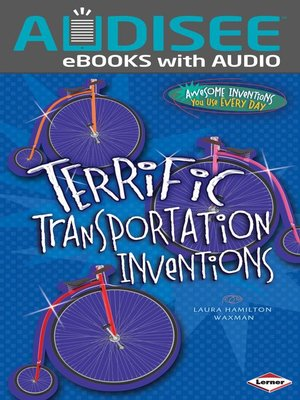 cover image of Terrific Transportation Inventions