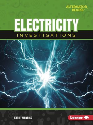 cover image of Electricity Investigations