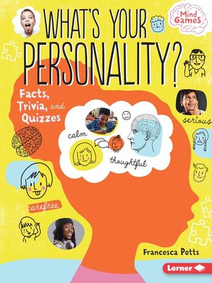 cover image of What's Your Personality?
