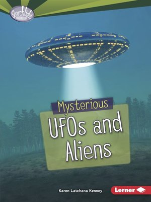 cover image of Mysterious UFOs and Aliens