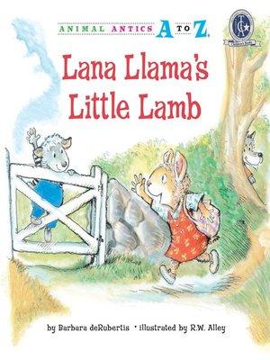 cover image of Lana Llama's Little Lamb
