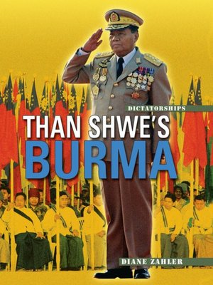 cover image of Than Shwe's Burma